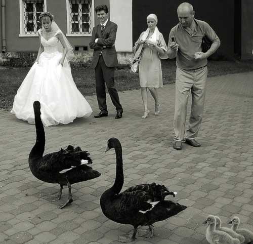Если порвать свадебное платье на свадьбе