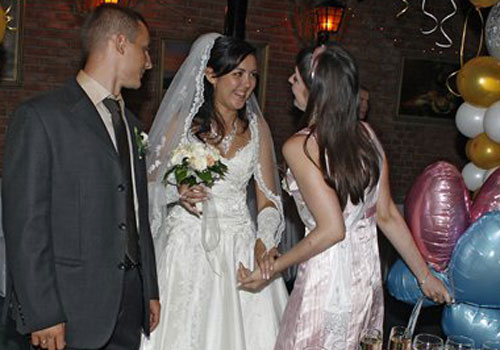 С днем бракосочетания! Поздравления от свидетельницы.