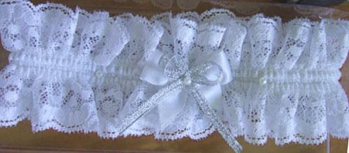 Свадебная подвязка своими руками 30
