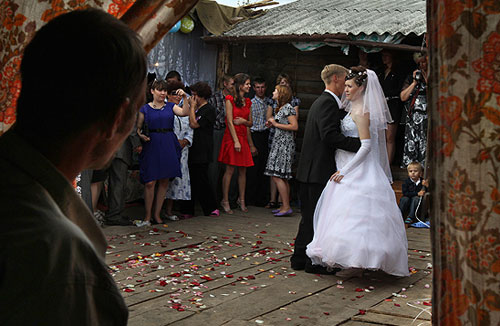 на свадьбе частные фото