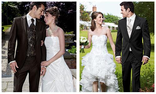 Сочетание костюма платья